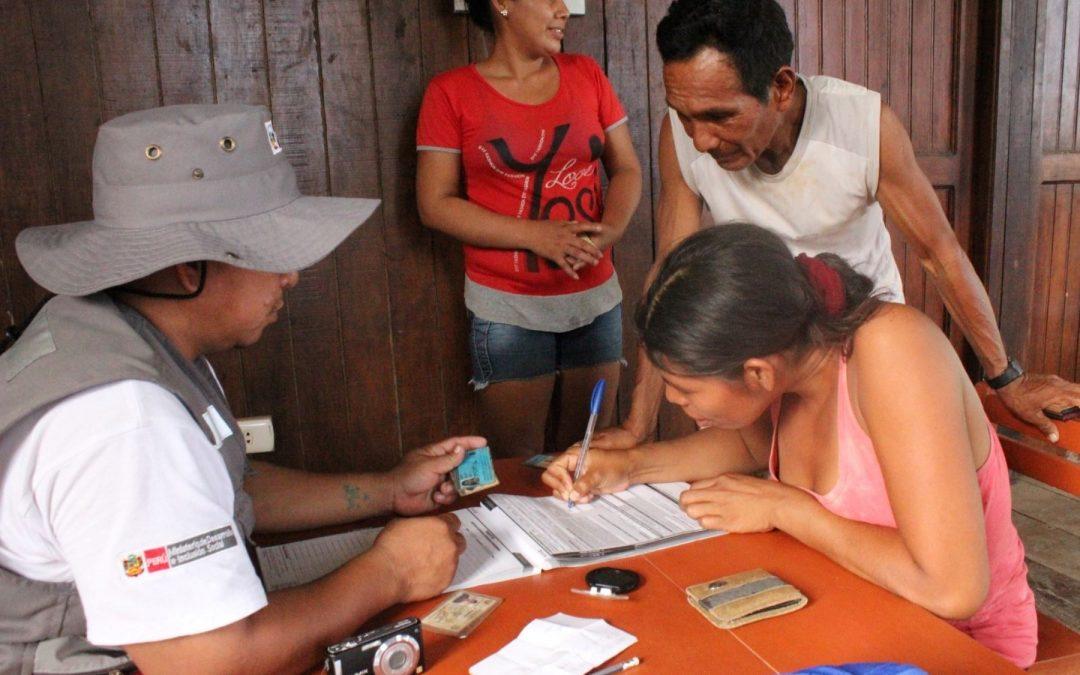 Fijan clasificación socioeconómica a 5,020 hogares indígenas de Loreto