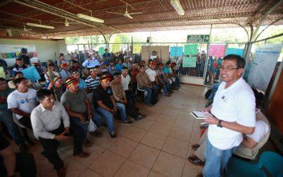 Comunidades nativas de Andoas acuerdan levantar medidas de fuerza