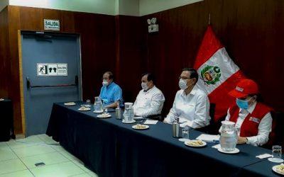 Fondo de emergencia indígena estará el lunes 22 de junio, según compromiso del presidente Vizcarra en su visita a Pucallpa