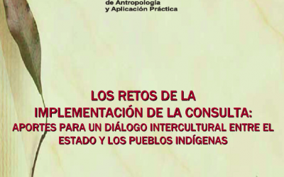 LOS RETOS DE LA IMPLEMENTACIÓN DE LA CONSULTA:  APORTES PARA UN DÍALOGO INTERCULTURAL ENTRE EL ESTADO Y LOS PUEBLOS INDÍGENAS