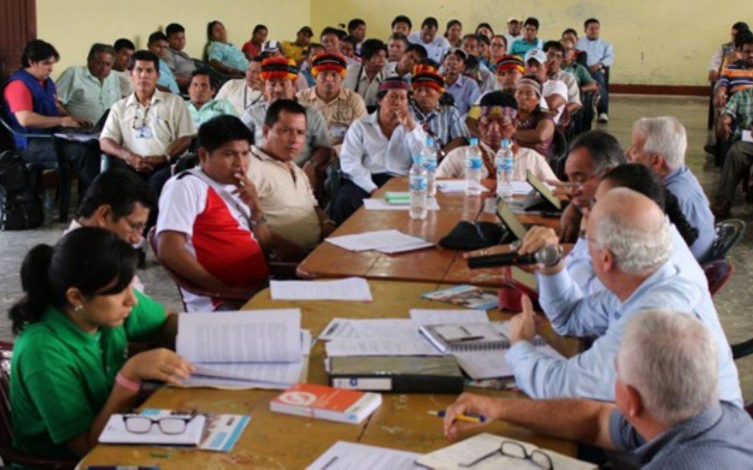 Conforman Mesa de Diálogo para comunidades indígenas del distrito de Trompeteros