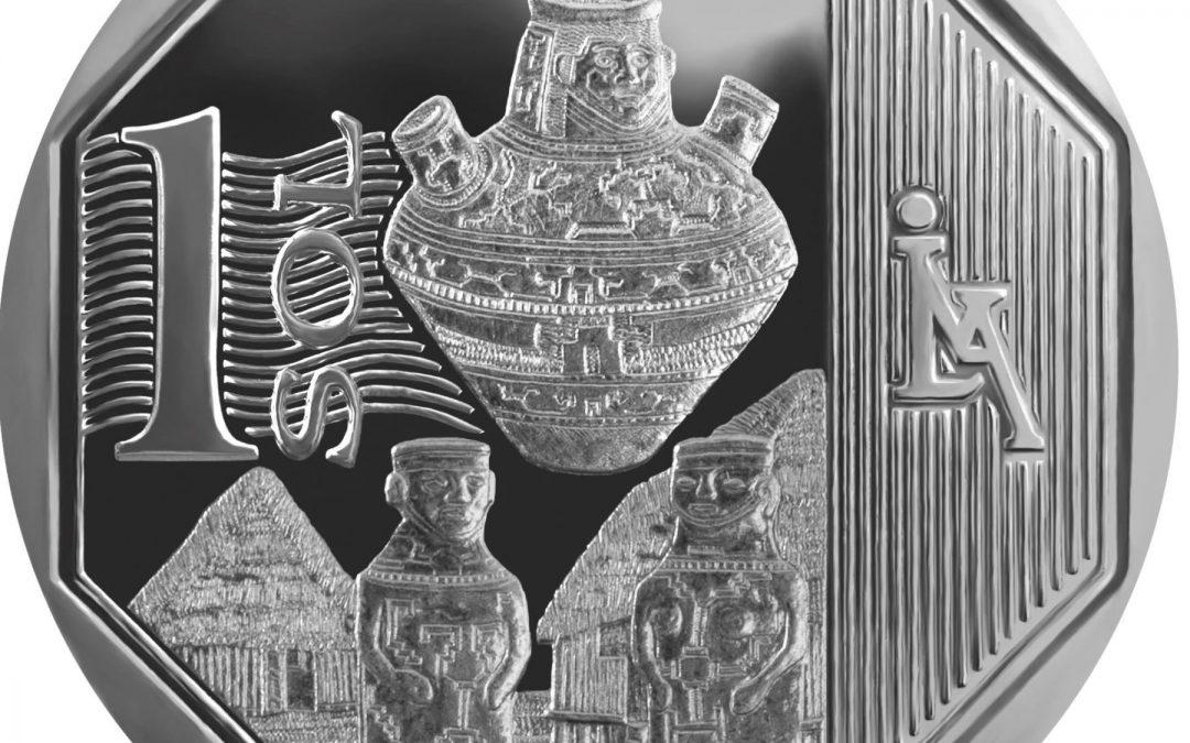 BCR pone en circulación moneda de S/ 1 alusiva a la Cerámica Shipibo-Konibo