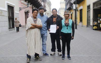 Nativos denuncian ejecución de carretera sin los estudios de ley