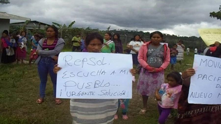 Cusco: Comunidad Nuevo Mundo en La Covención pide compensación a Repsol