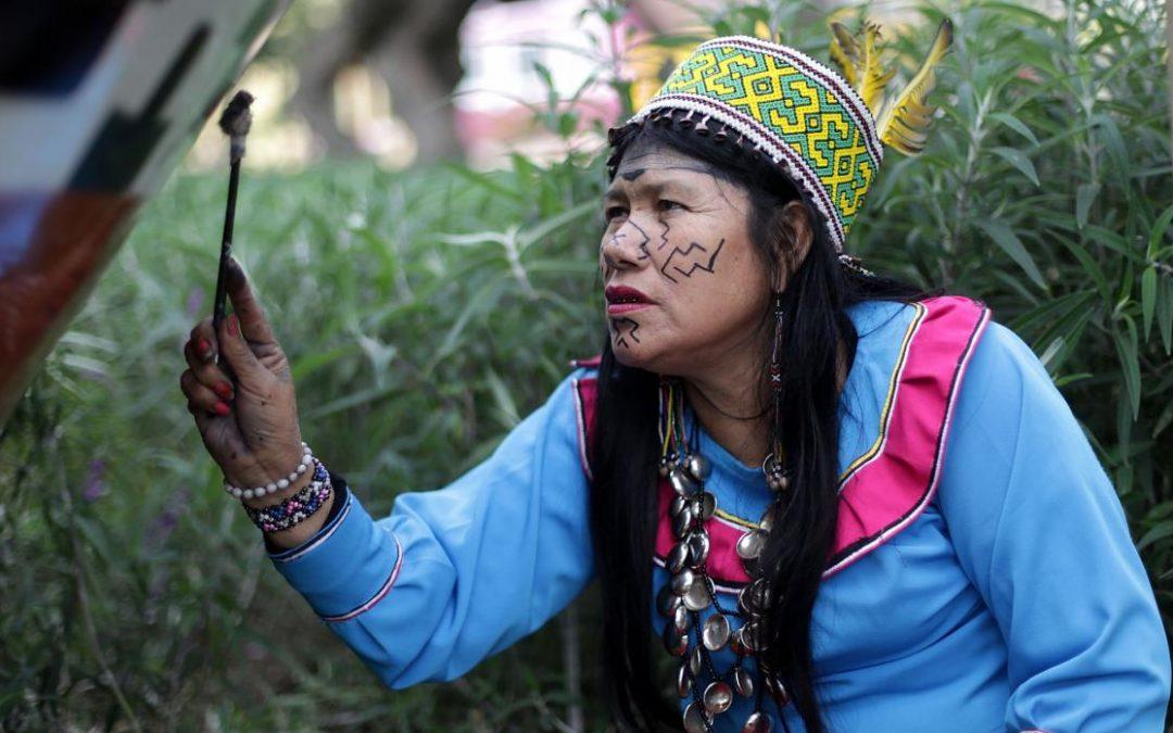 Olinda Silvano, la artista shipibo-konibo que llevará su arte a México