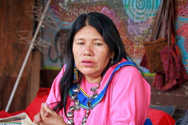 Día del trabajo: Olinda, la maestra shipiba