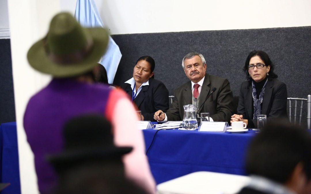 Grupo de trabajo para alentar participación política indígena inicia labores