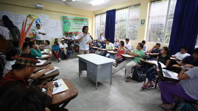 Tarapoto: Cambio climático, mujer panamazónica e industrias extractivas marcan primer día de Preforo Social