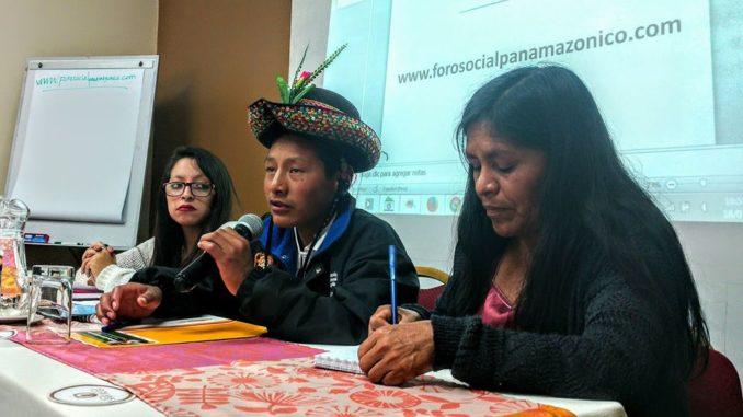 Presentaciones y Vídeos del Conversatorio FOSPA de hoy en Lima