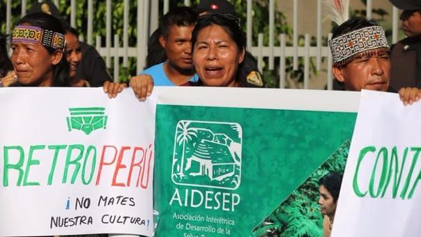 Organizaciones indígenas protestan por derrame de petróleo