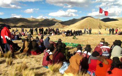 Pueblos indígenas exigen al Ministerio del Ambiente que los estudios de impacto ambiental sean objeto de consulta previa