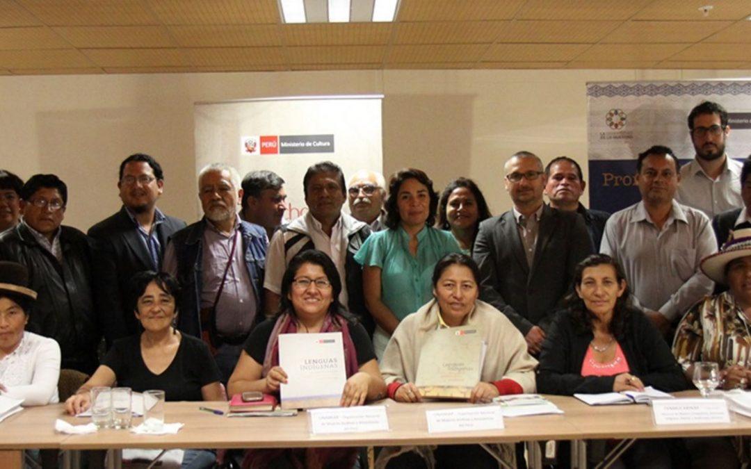 Inician proceso de consulta previa por reglamento de Ley de Lenguas Indígenas