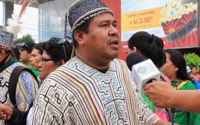 """Líder shipibo a la ONU: """"Somos la última preocupación de nuestros gobernantes"""""""