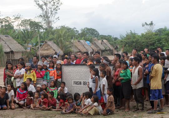 Comunidad shipiba demanda a dirección de agricultura por favorecer empresa de palma aceitera