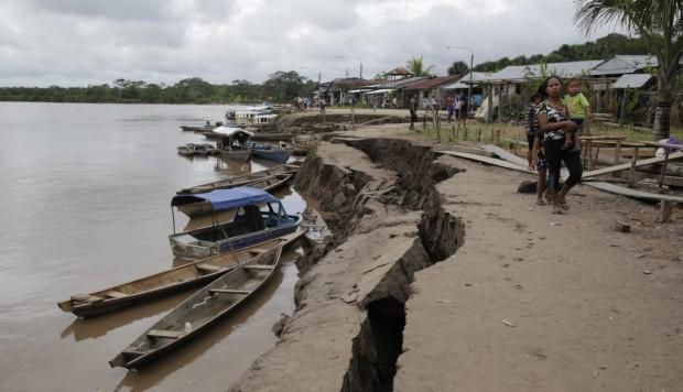 Cáritas de Perú lleva 11 toneladas de ayuda humanitaria a familias damnificadas por el terremoto