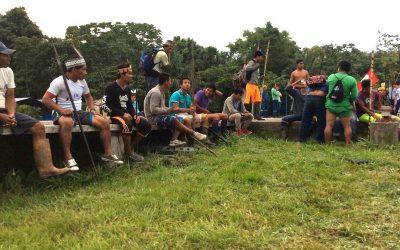 SE SUMAN AL PARO INDEFINIDO INDÍGENA 25 COMUNIDADES DEL PACAYA SAMIRIA
