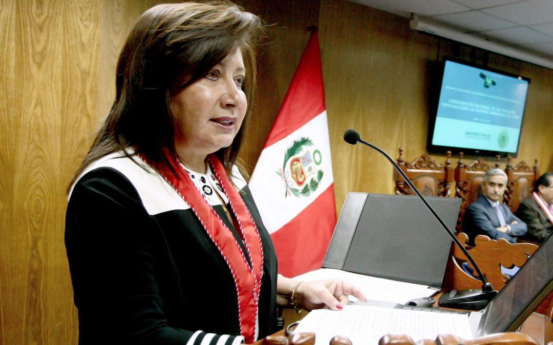 Fiscal peruana será premiada por el Gobierno de EEUU por su defensa de la Amazonía