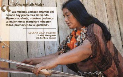 [PODCAST_#AmazoníaEsMujer] Susana, el orgullo y la fortaleza de la mujer matsigenka