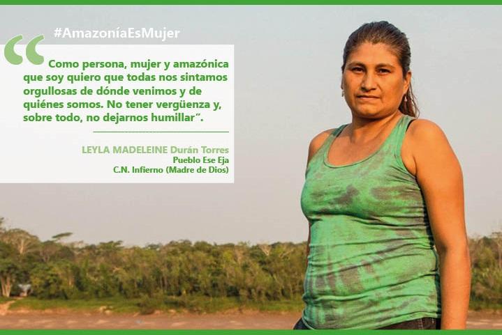 [PODCAST_#AmazoníaEsMujer] Leyla, sembrar fortaleza en el corazón para evitar sufrimiento