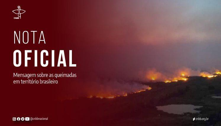 """Obispos brasileños, sobre incendios en la Amazonía: """"Esta situación caótica solo se superará con investigación, responsabilización de los culpables y reorganización económica"""""""