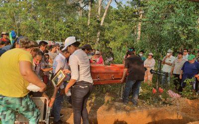 """Adiós a defensor asesinado en Madre de Dios: """"Tu muerte no quedará impune mientras estemos vivos"""""""