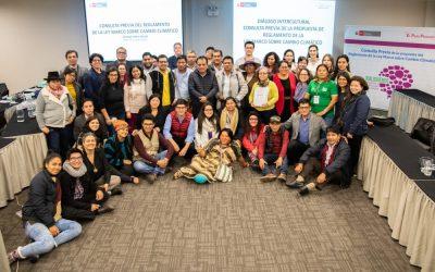El Estado emite Resolución que integra a los pueblos indígenas en la lucha contra el Cambio Climático