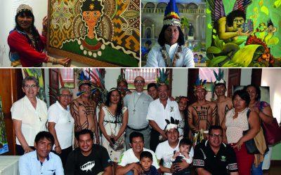 Arte amazónico: Impulsan diálogo de saberes y experiencias entre pintores indígenas en el contexto de COVID-19
