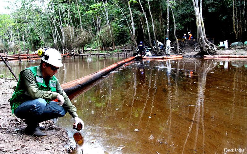 La OEFA y las empresas mineras y petroleras