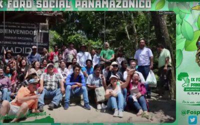 FOSPA concluye con un llamado a defender la vida y el ecosistema amazónico