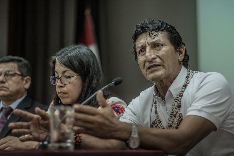 """Alfonso López (ACODECOSPAT): """"No servirá de mucho tener el mejor hospital si el veneno sigue fluyendo por nuestros ríos"""""""