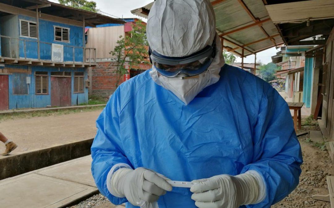 En tres semanas: Mapeo CAAAP revela 43 fallecidos y más de 4.000 nuevos casos por COVID-19 en la Amazonía de Perú