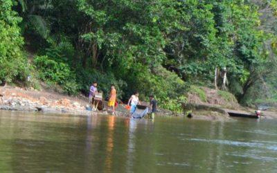 Río Cenepa (Amazonas): Aumentan amenazas de la minería ilegal contra líderes awajún