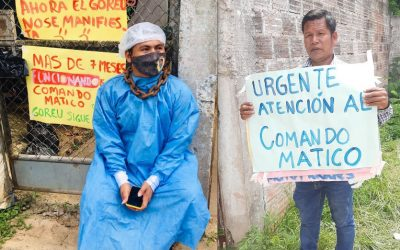"""Comando Matico clama apoyo a las autoridades de Ucayali: """"No más muertes de nuestros hermanos indígenas"""""""