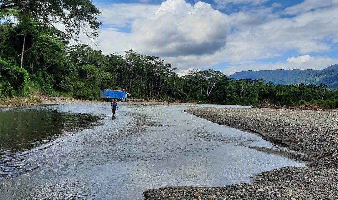 Comunidad Harakbut denuncia que, sin consulta previa, el municipio del Manu quiere comerciar con materiales extraídos de su territorio comunal