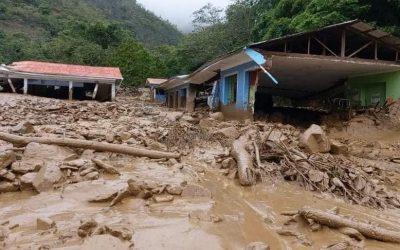 Miles de damnificados por lluvias y desborde de ríos en la Amazonía Peruana