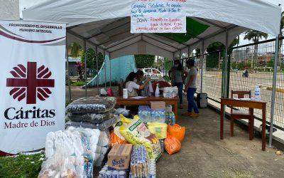 «Unidos en Solidaridad». Más de 14.000 damnificados necesitan ayuda tras inundaciones en Madre de Dios