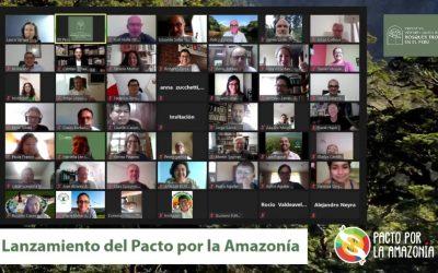"""""""Pacto por la Amazonía"""" convocará a candidatos presidenciales para exponer propuestas sobre el futuro de la Amazonía"""