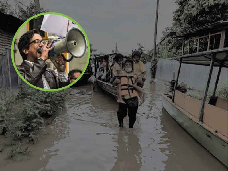 """Antonio Zambrano: """"La agenda ambiental se encuentra en emergencia"""""""