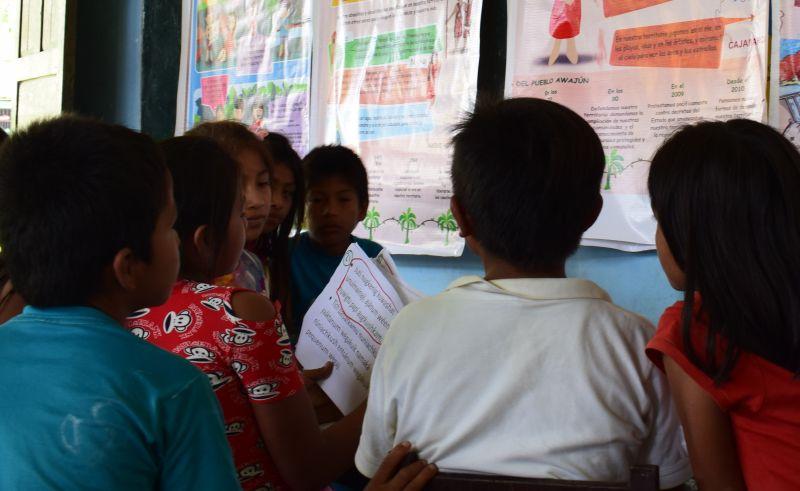 Presentan nuevos materiales educativos para el conocimiento y preservación cultural del pueblo indígena Awajún