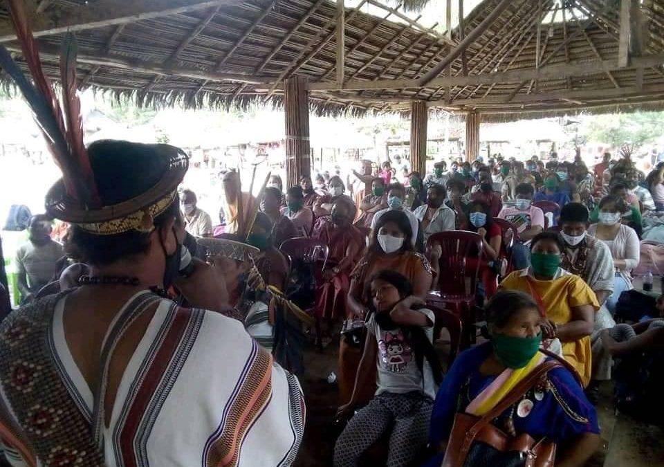 """""""No más impunidad"""". Organizaciones indígenas claman justicia para Estela Casanto"""
