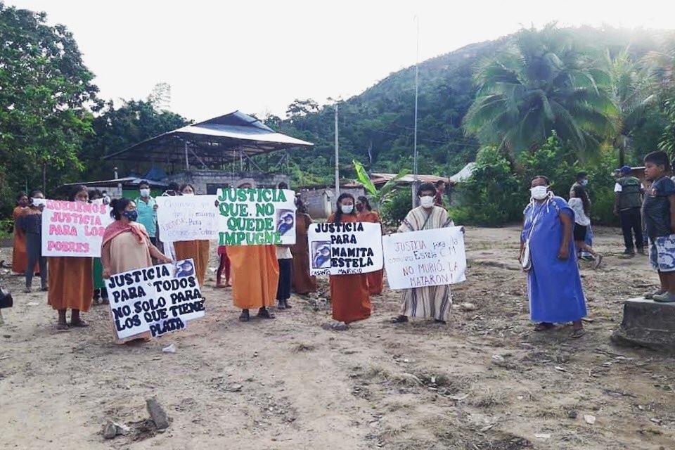 Presidenta del Congreso pide protección para la comunidad Shankivironi tras el asesinato de Estela Casanto