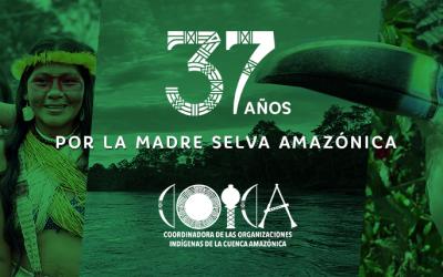COICA: 37 años de existencia y lucha en defensa de la Amazonía y sus pueblos