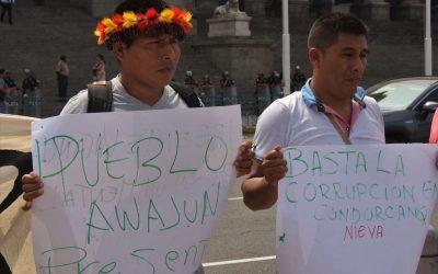 """Hortez Baitug (ODECOFROC): """"Los mineros ilegales nos siguen. Han acordado matarnos en cualquier momento"""""""
