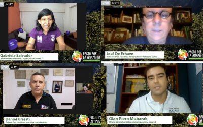 Elecciones 2021, ¿se mira hacia la Amazonía? Primer diálogo, primeras respuestas