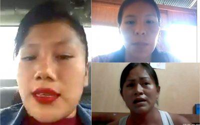San Martín: Mujeres líderes de los pueblos Kichwa, Awajún y Shawi exponen reivindicaciones y necesidades ante candidatos al Congreso