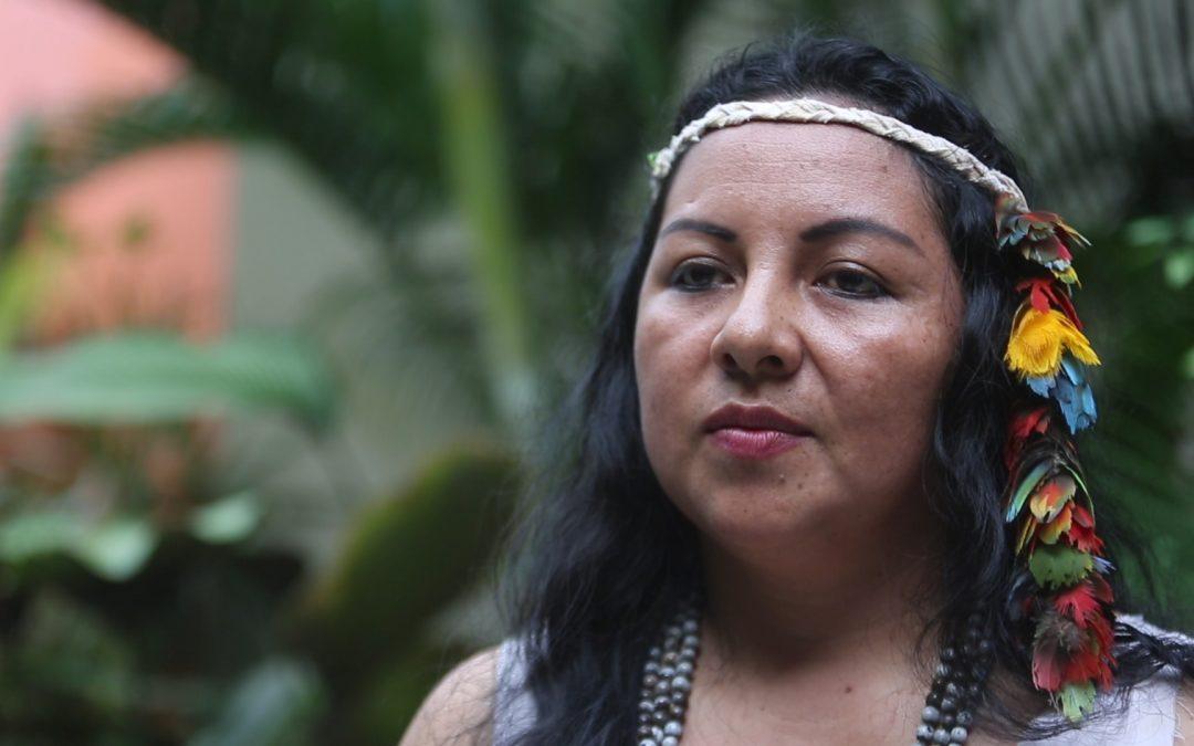 Yésica Patiachi, del pueblo indígena Harakbut, nombrada consejera de la REPAM