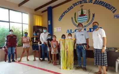 San Martín: Niños y niñas ambientalistas de Barranquita presentan iniciativas sobre la basura a su alcalde