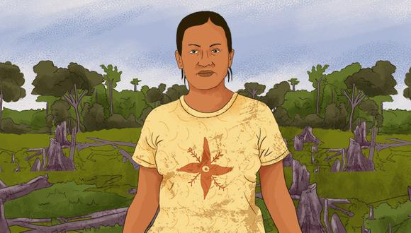 La lideresa Kichwa que defiende su territorio de taladores ilegales y narcotraficantes en la Amazonía de Perú