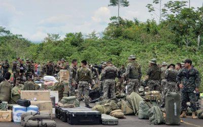 Amazonas: Prorrogan intervención militar en el Cenepa ante el riesgo de retorno de mineros ilegales