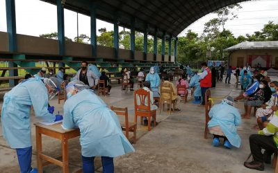 Plan de vacunación para más de 380 mil indígenas ya está preparado, indica el MINSA